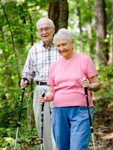 photo gallery - senior hiking