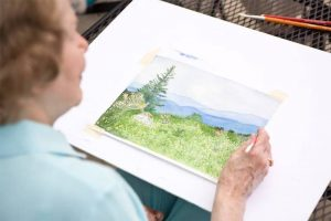 photo gallery - outdoor painting