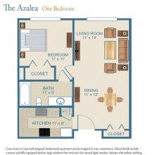 Floor Plans One Bedroom