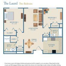 Floor Plans Two Bedroom