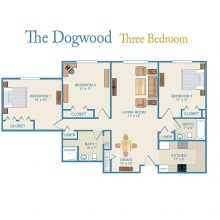 The dogwood floor plan.