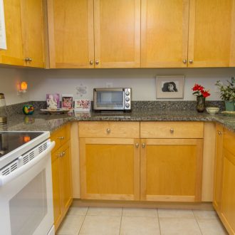 A view of the kitchen in the Azalea floor plan with cooktop, dishwasher, and stainless sink.